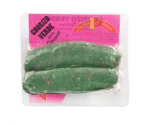 chorizo verde para cocinar