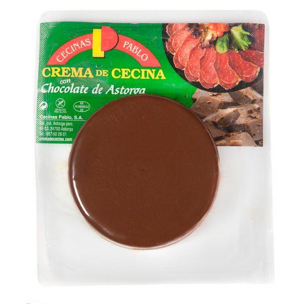 crema de cecina y chocolate